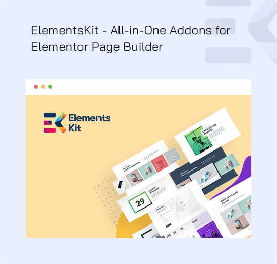Licence Plugin Elements kit PRO for Elementor